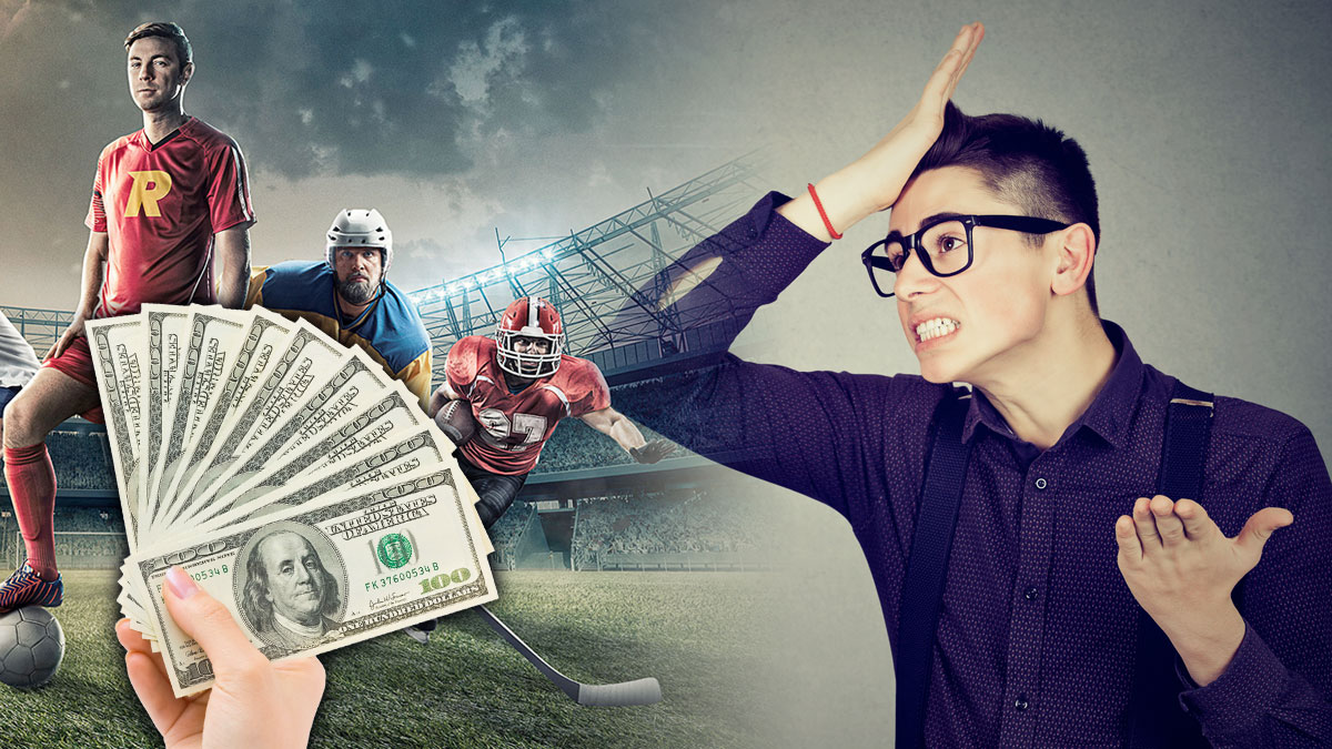 Mistakes did during sports betting